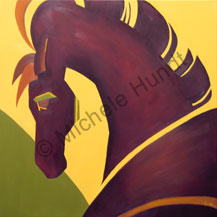 Carnival Horse Painting